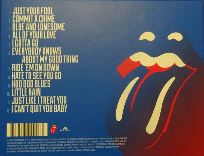 The Rolling Stones Album Blue Amp Lonesome 2016 By Iorr