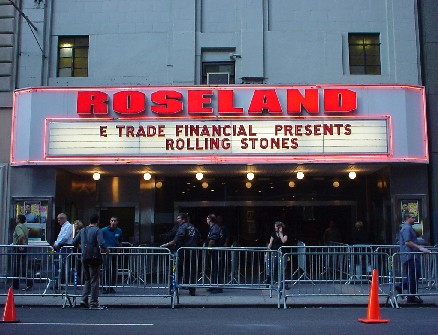 The Rolling Stones Live At The Roseland Ballroom Ny Sept