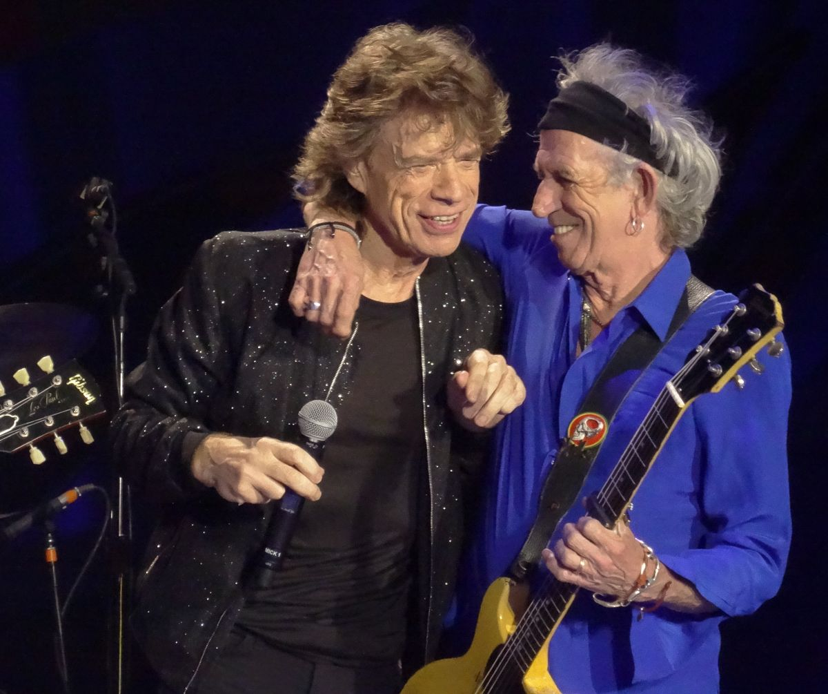 The Rolling Stones live in Santiago de Chile, Chile