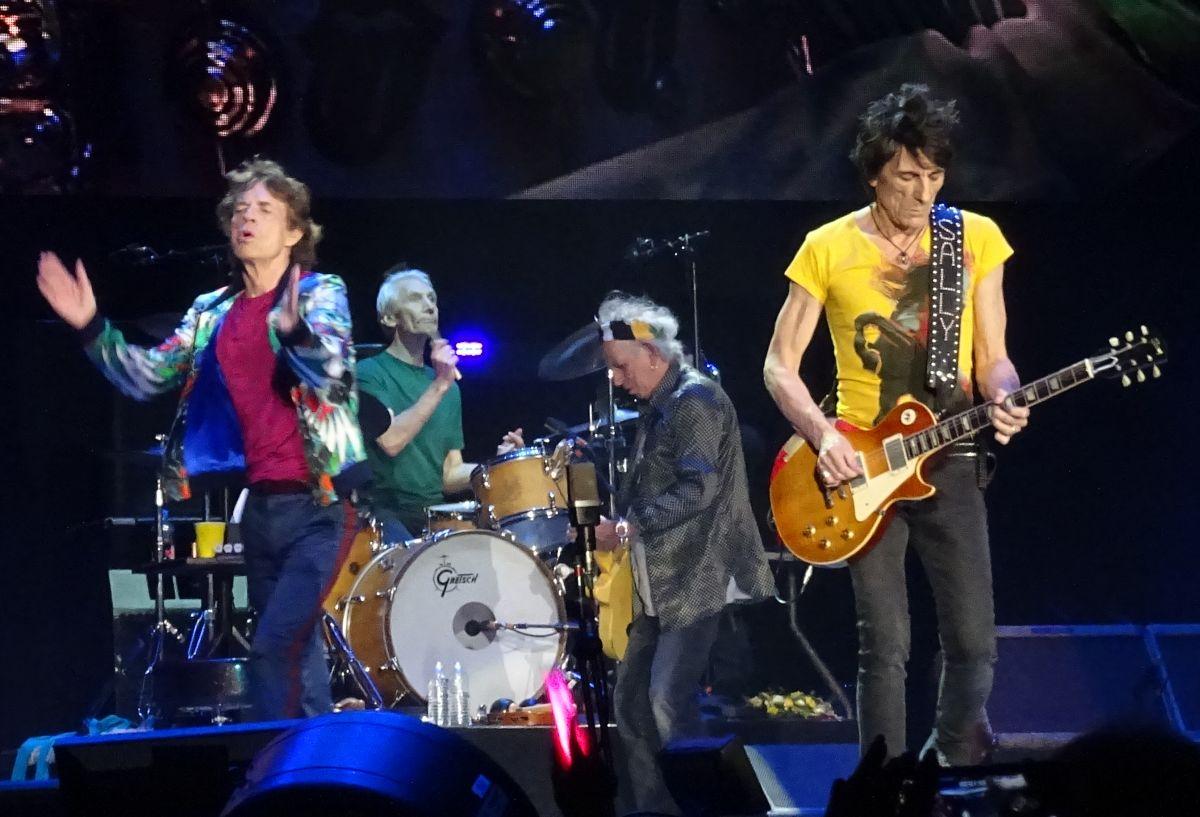 The Rolling Stones live at the Desert Trip, Indio/Coachella