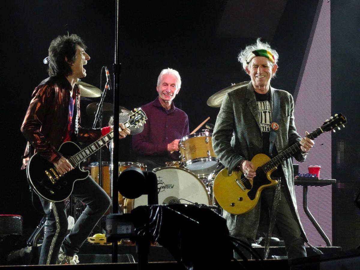 Spielberg Rolling Stones