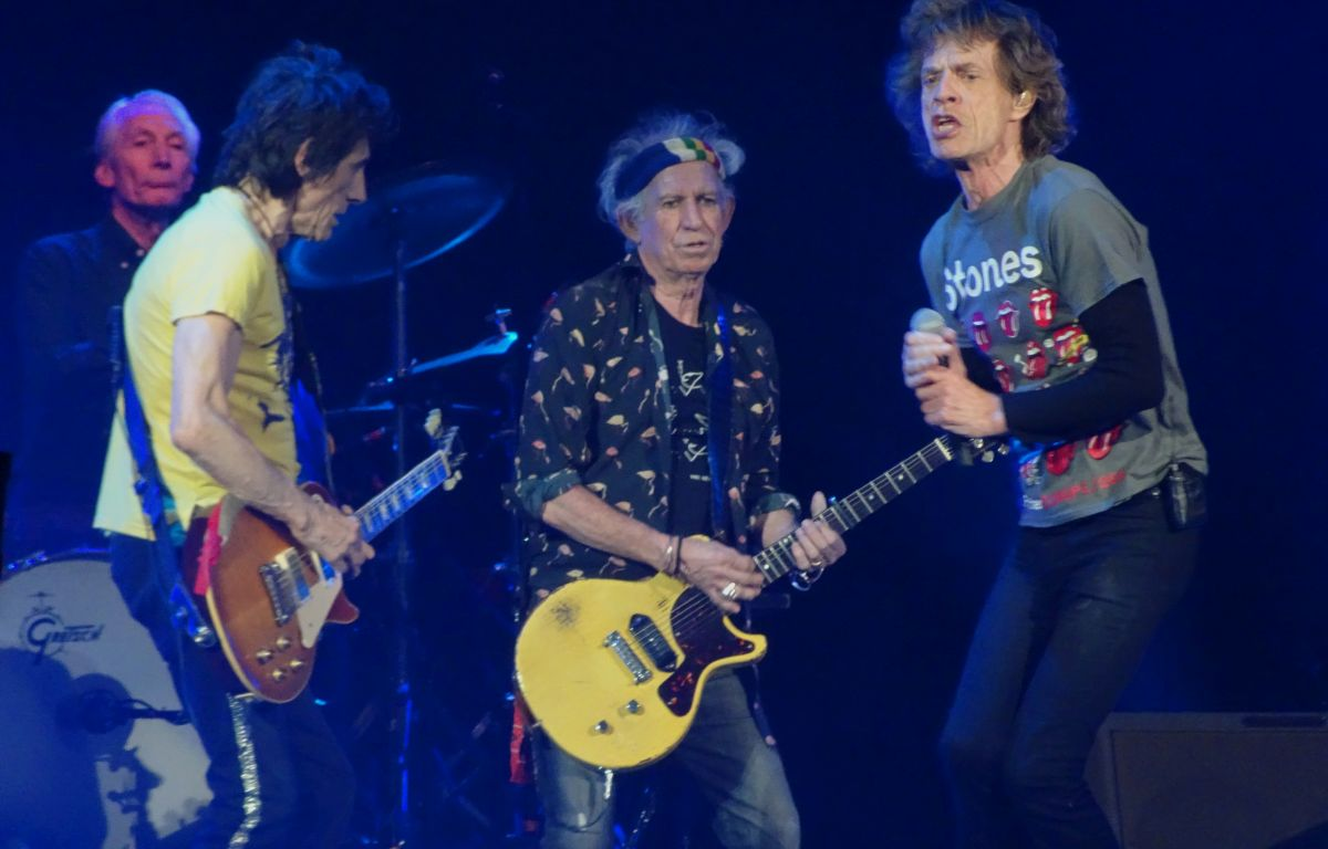 The Rolling Stones Live In Amsterdam Arena Amsterdam The