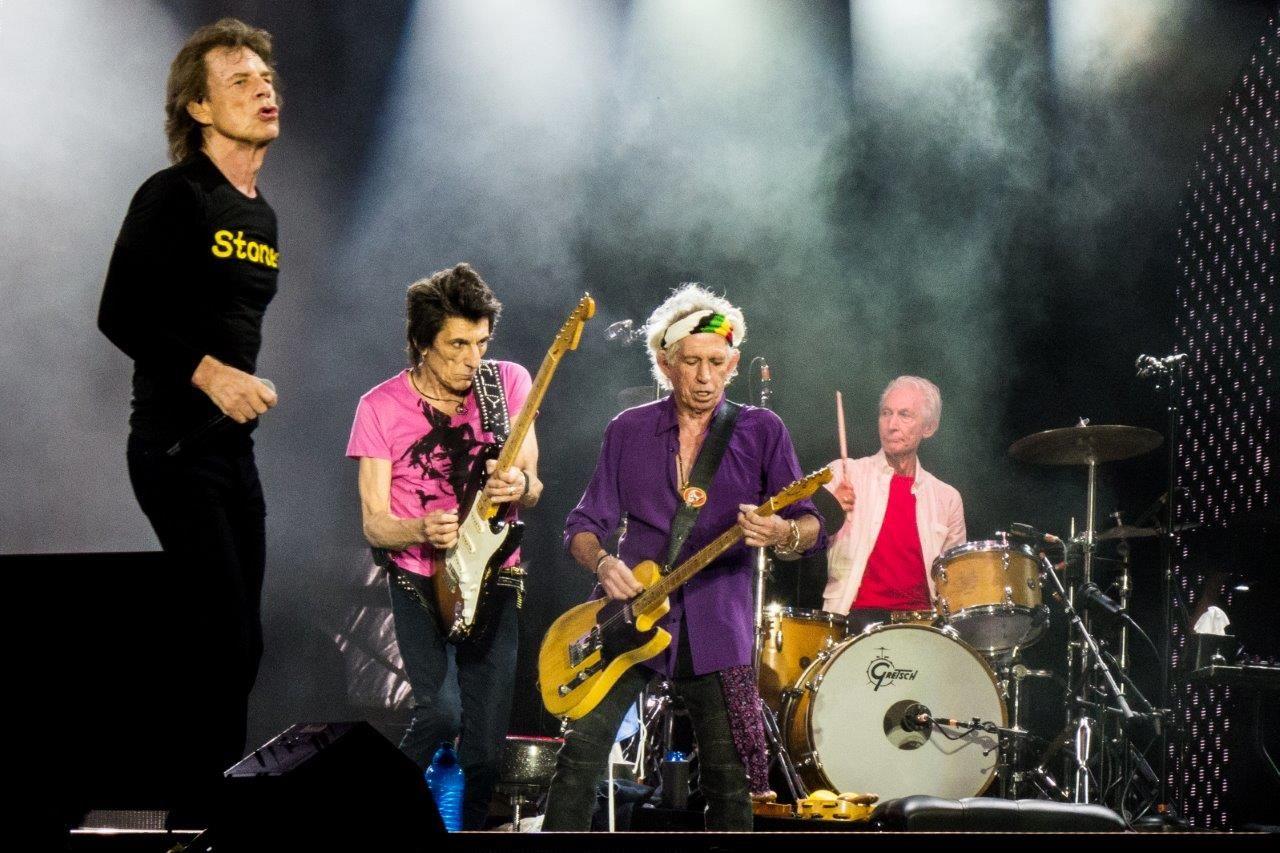 The Rolling Stones live at Twickenham Stadium, London UK
