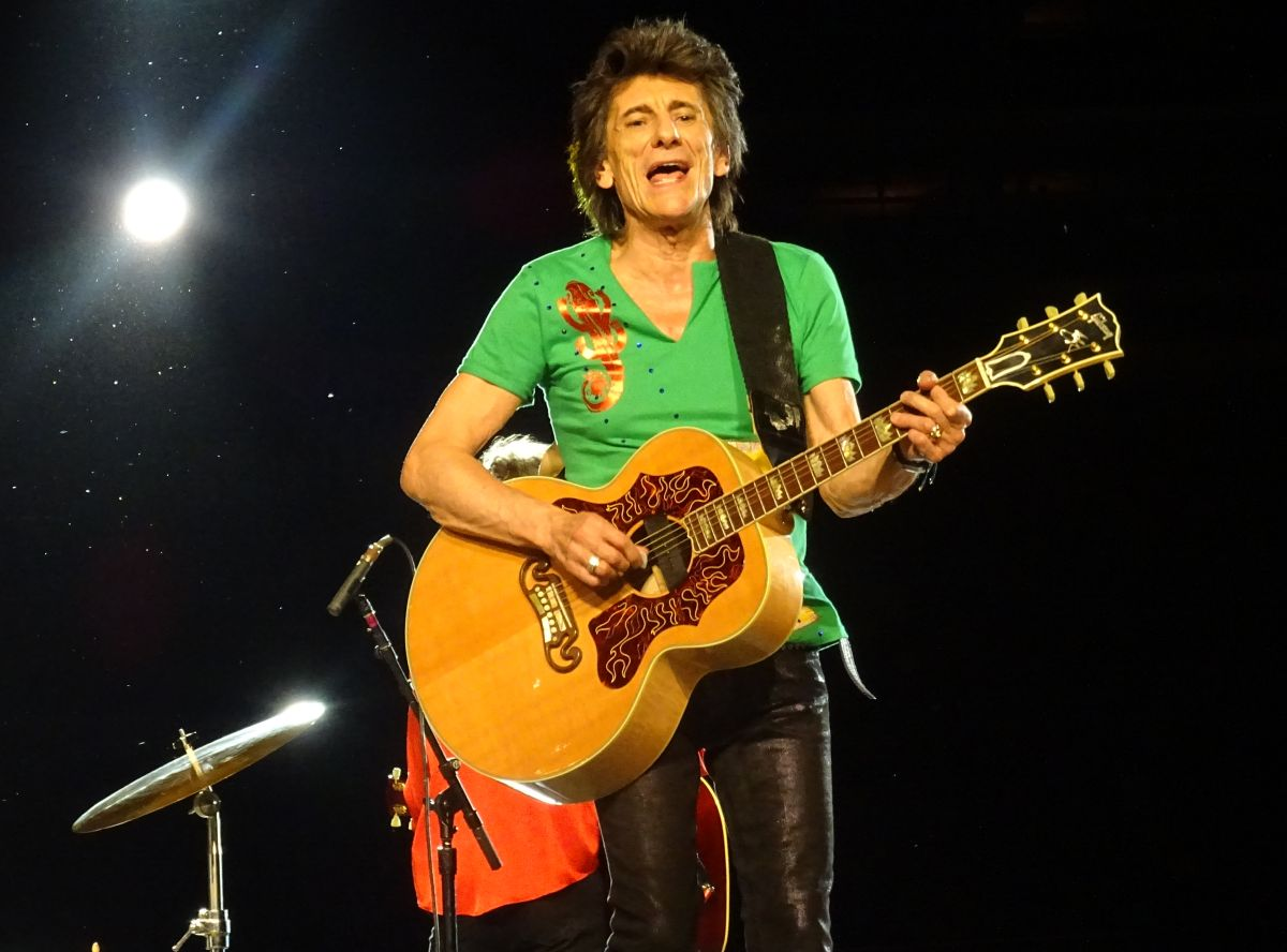 The Rolling Stones live at Soldier Field, Chicago, IL, USA