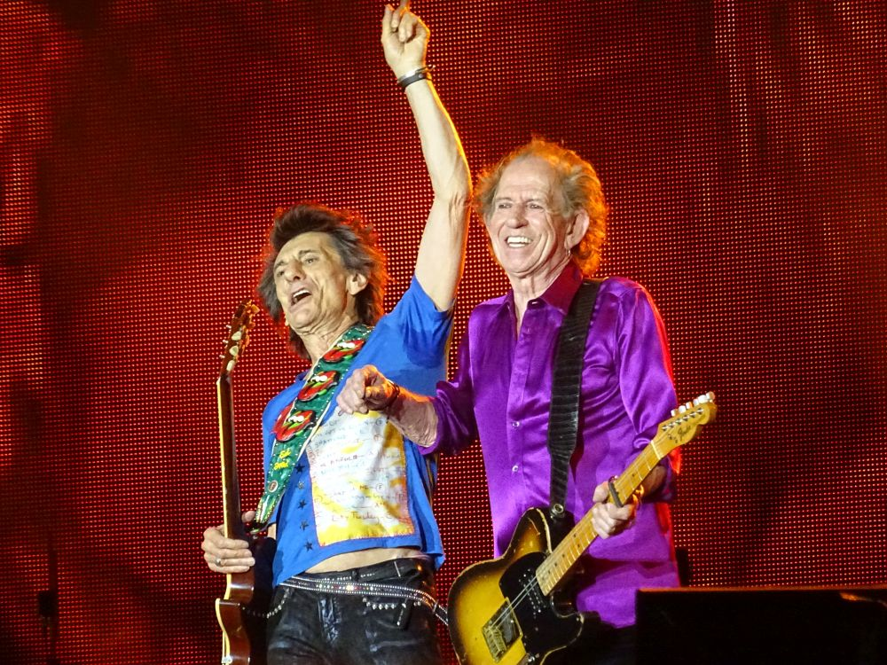The Rolling Stones live at Broncos Stadium at Mile High