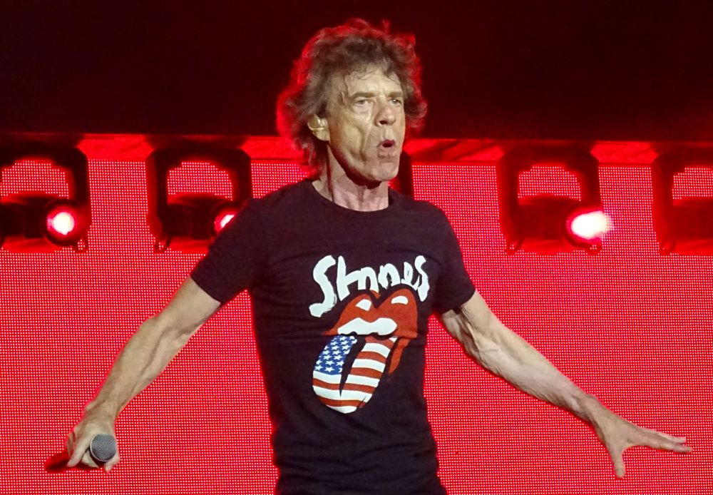 """The Rolling Stones /""""Let/'s Spend The Night Together/"""" Women/'s T-Shirt Small//Medium"""